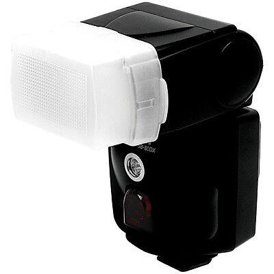 Diffuseur de flash bouncer blanc pour Flash Nissin Di466 Di-466