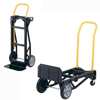 Best Hand Truck Large Moving Cart Travel Steps Appliance Dolly Foldable 400