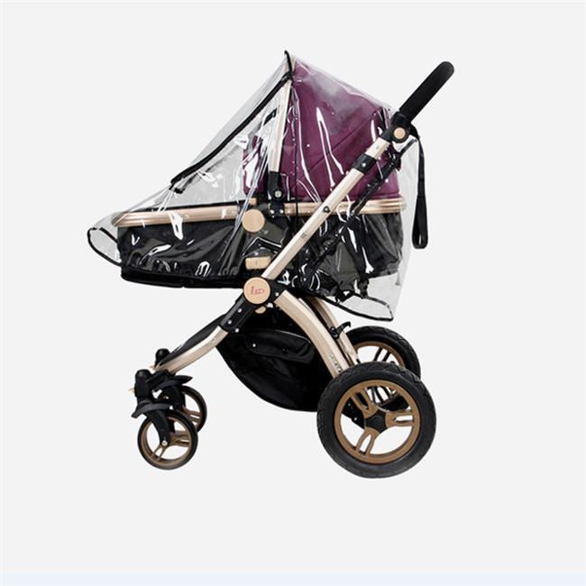 Infant Stroller Accessories Universal Waterproof Rain Cover Wind Dust Shield HS3