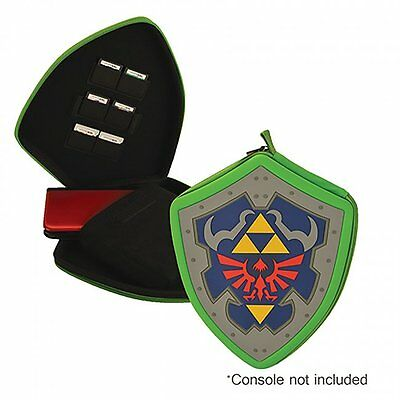 Legend of Zelda Hylian Shield Case for Nintendo 3DS, 3DS XL, 2DS