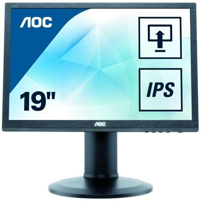 AOC I960PRDA 48,3 cm 19 Zoll Monitor VGA DVI 1280x1024 60Hz Pivot Rechnung