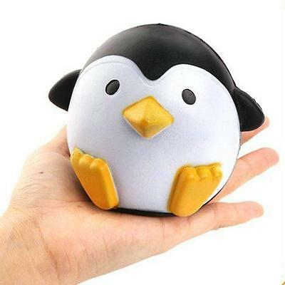 Fancy Squishies Penguin Scented Squeeze Slow Rising Fun Toy Relieve Stress Cure