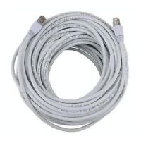100 ft. White High Quality Cat6 550MHz UTP RJ45 Ethernet Bare Co