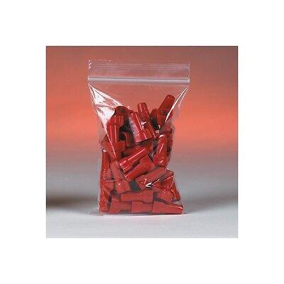 1000 Reclosable Reusable Ziplock Jewelry Plastic FDA USDA Clear Poly Bags 1x1