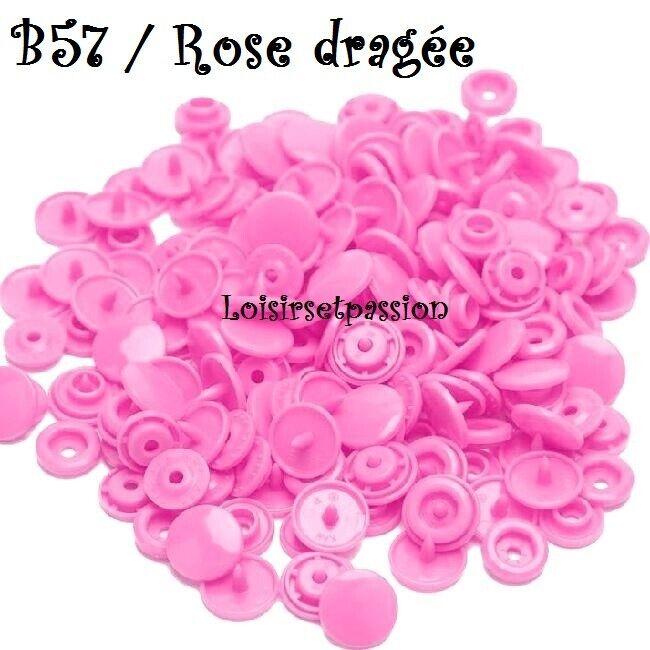 Couleur B57 / ROSE DRAGÉE