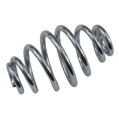 """Chrome 4"""" Tapered Solo Seat Spring"""