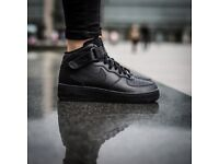 Nike Air Force 1 Mid (GS)GIRLS WOMENS TRAINERS UK 6