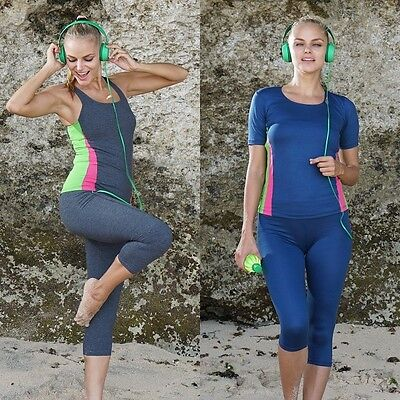 Women Exercise Clothing Ladies Workout Top Sportswear Running Gym Fitness Yoga Z