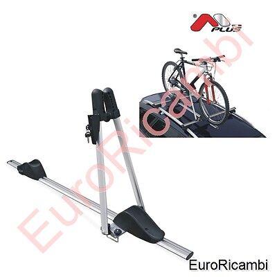 Portabicicletas de Techo en Aluminio As para Barras - Soporte Bicicletas