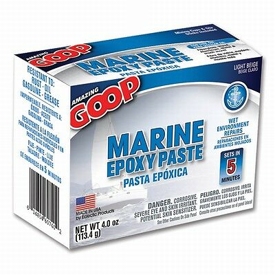 Eclectic 5300031 4 Pack 4 Oz. Amazing Goop Marine Epoxy Paste Light Beige