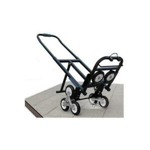 Climbing stair hand truck dolly cart wagon with spare tires