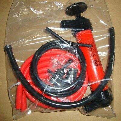 Practical Car Auto Hand Oil Gas Liquid Syphon Transfer Pump Hose Siphon Pump Ld