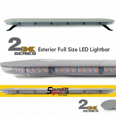 Sound Off Signal Led 47 New 2x Series Amber Lightbar Soundoff Light Bar Tow