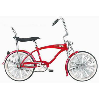 "20"" Lowrider Beach Cruiser Complete W/ 140 spoke Bike Micarg"