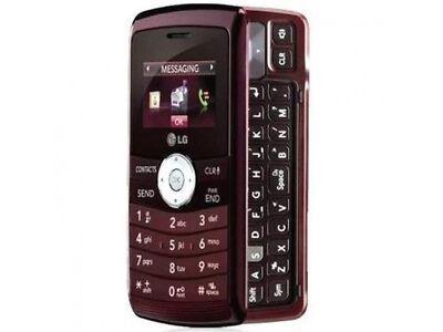 LG EnV3 VX9200 - RED Maroon (Verizon) Cellular Phone Page Plus Straight Talk
