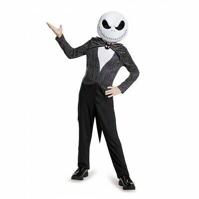 Disguise Nightmare Before Christmas Jack Childrens Halloween Costume 87942 ()