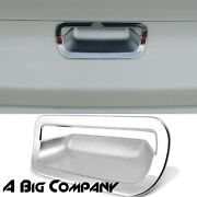 Chrome Tailgate Cover