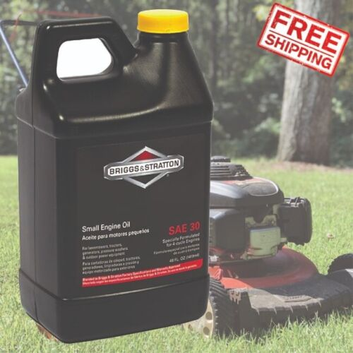 Lawnmower 4 Cycle Engine Oil For Push Mower Zero Turn Lawn Tractor Care SAE 30W