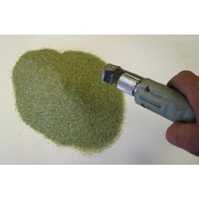 Ground Glass 0.9-1mm 25kg Bag Aggressive Grit Rust Removal Clean Blasting Media