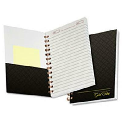 Tops Products 20803 Gold Fibre Personal 5 X 7 Notebook College-medium Grey Co...