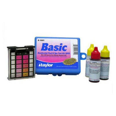 taylor Basic Residential DPD Pool and Spa Water Test Kit - K