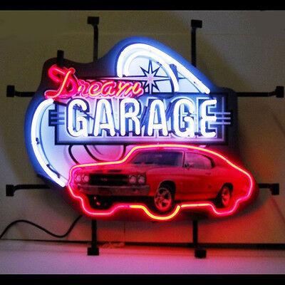 Dream Garage Chevelle Neon Sign Chevy 5DGCHV w/ FREE Shipping