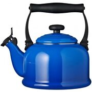 Blue Enamel Tea Kettle