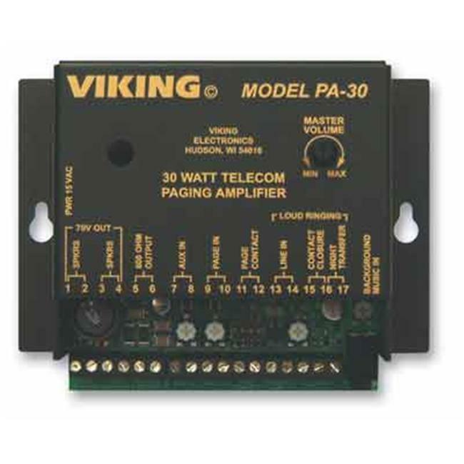 Viking Electronics PA-30 Viking 30 Watt Telecom Pagin A