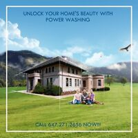 Restore Your Exteriors with Power Washing