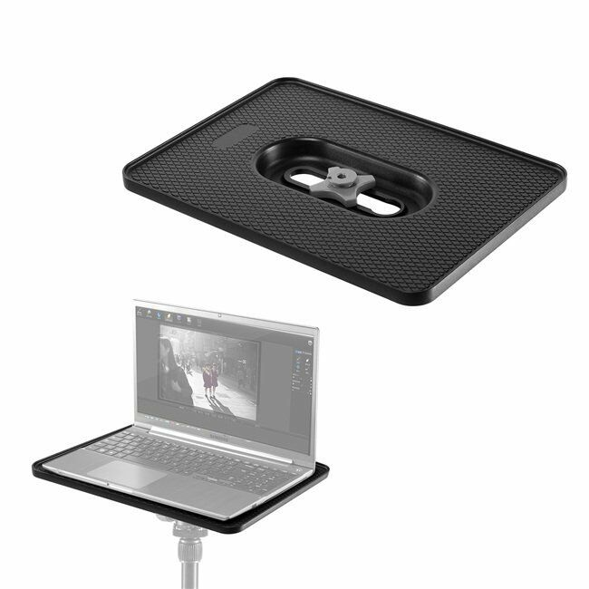 New Laptop Notebook Projector Monitor Tray Holder For 1/4 3/8 Screw Tripod Stand