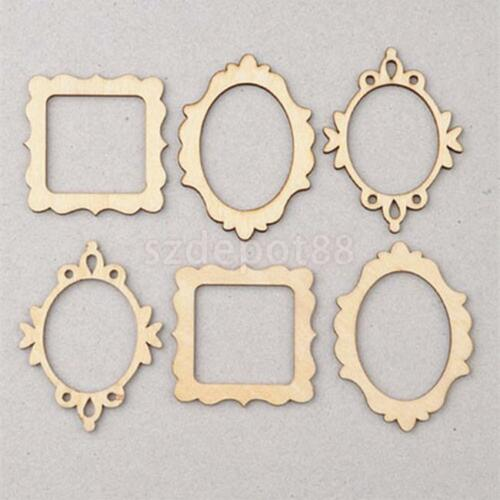 50 wooden mdf butterfly shape craft blank cutout plaque for Craftsman frame
