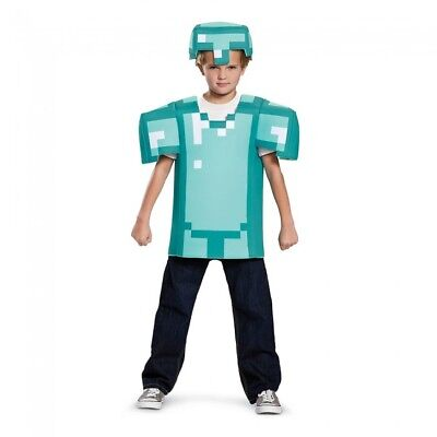 Disguise Armor Classic Minecraft Costume Blue Small (4-6)