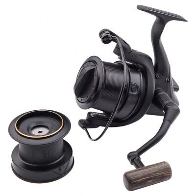 Wychwood Riot 65S Black Reel + Spare Spool NEW Big Pit Reel - C0879