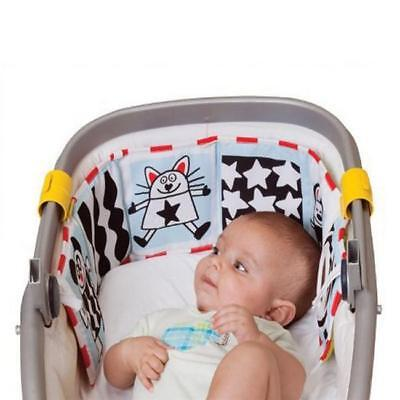 Lion Cloth Book Soft Double Side Crib Infant Early Learning Educational Toys HS3