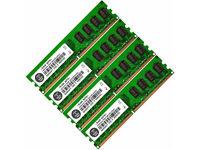 8 GB 4x2GB Or 16 GB 8x2GB DDR2 PC2-6400 6400U DDR2-800 MHZ MEMORY DIMM PC DESKTOP RAM 240 PIN