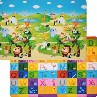 NEW dwinguler Zoo reversible playmat kid's mat Sydney City Inner Sydney Preview