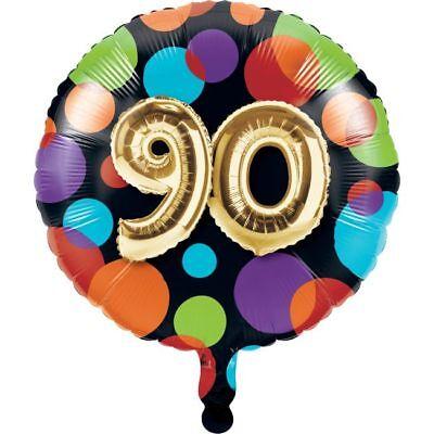 Gold Balloon Birthday 90th Birthday Foil Balloon 90 Party Decoration](90th Birthday Balloons)