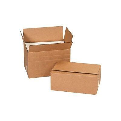 Multi-depth Corrugated Shippingpackingmoving 6 X 4 X 4 Kraft 25bundle