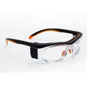 X Ray Radiation Safety Glasses Leaded Lens Built-in Side Shields and Temple Bar