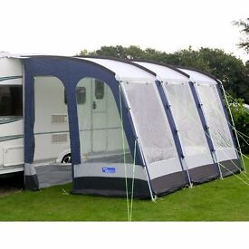 Kampa Rally 390 Awning complete with all accessories