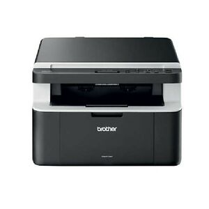 Brother DCP-1612W 3-in-1 Print-Scan-Copy Mono Laser Printer - Wi