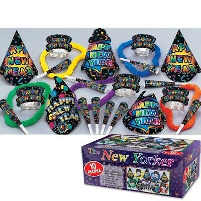 New Years Eve Party New Yorker 10-Person New Year Party Kit](New Years Eve Party Kit)