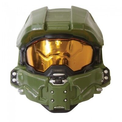 Halo Master Chief Halloween Costume (Disguise HALO Master Chief Game Adult Mask Halloween Costume Accessory)