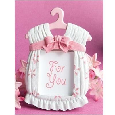 Baby Dress Favor (Girls Dress Frame Baby Boy Baby Shower Favor  Place Card/ Photo Kid Gift BL3 )