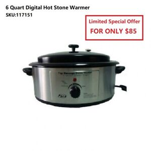 Massage Stone Heater and Massage Stone Set Starts From $ 85.00