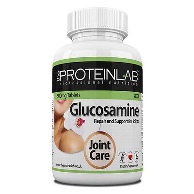 Glucosamin Sulfat 500mg 2KCL Gelenk Pflege und Schmerzen Tabletten Pillen Gratis - 2 Mg Pillen
