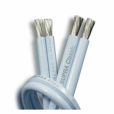 SUPRA Classic 2.5 Cable Potencia Para Altavoces Audífonos Alta Calidad 'Al Metro