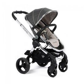 I CANDY PEACH 3 PRAM AND PUSH CHAIR STROLLER RRP NEARLY £1000