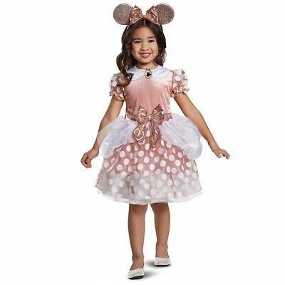 Disguise Disney Minnie Maus Rotgold Kleid Kleinkind Halloween Kostüm 15705