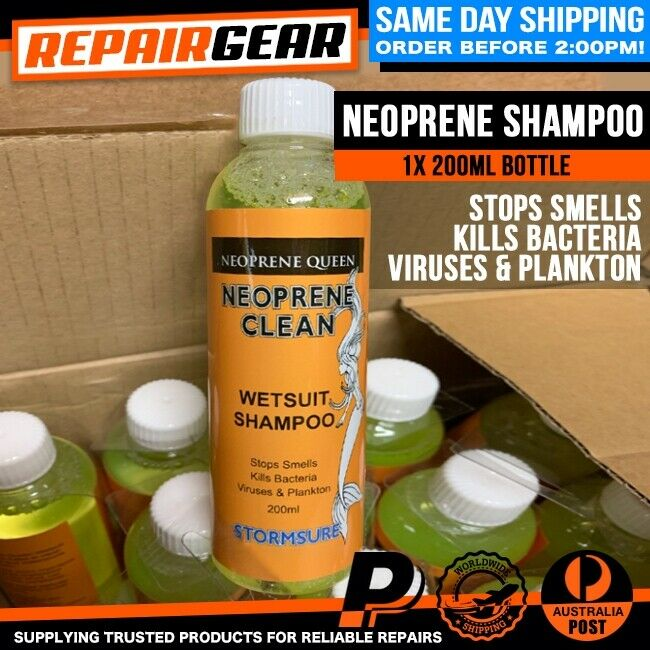 NEOPRENE CLEAN 200ML WETSUIT WASH - GLOVES BOOTS SHOES HOODS STOP BACTERIA SMELL
